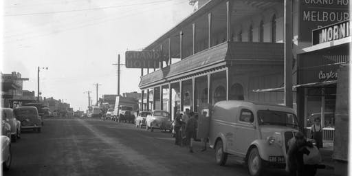 History Week - Historical walk around Mornington Main Street - Mornington Library