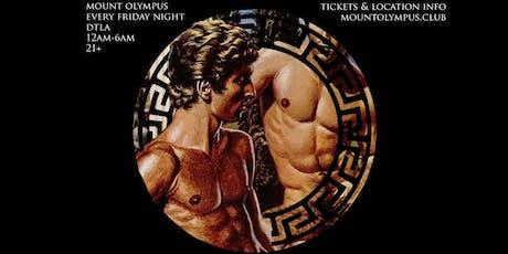Mount Olympus September 20 tickets