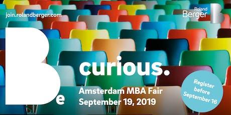 Amsterdam MBA Fair 2019 tickets