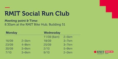 RMIT Social Run Club tickets
