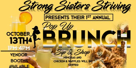 Strong Sitsters Striving' Pop up + Brunch tickets