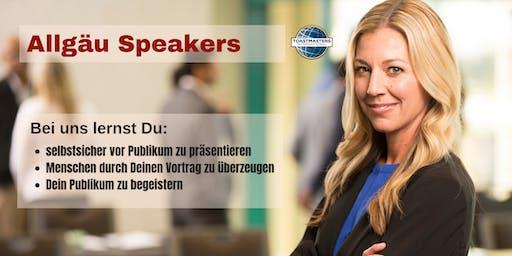 Allgäu Speakers - Club-Meeting