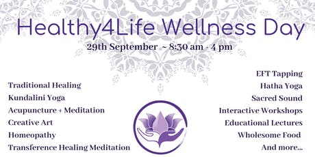 Healthy4Life Wellness Day September tickets