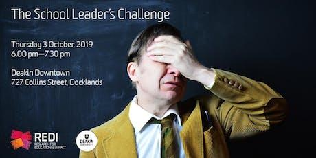 The School Leader's Challenge tickets