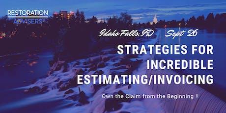 Restoration 2.0 Series: Customer Centric Estimating & Invoicing-Idaho Falls tickets