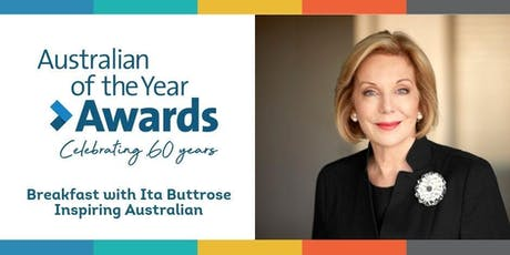 Inspiring Australians Breakfast with Ita Buttrose tickets