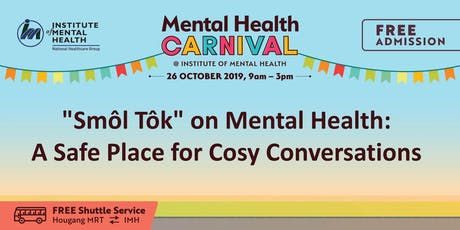 """Smôl Tôk"" on Mental Health: A Safe Place for Cosy Conversations  tickets"