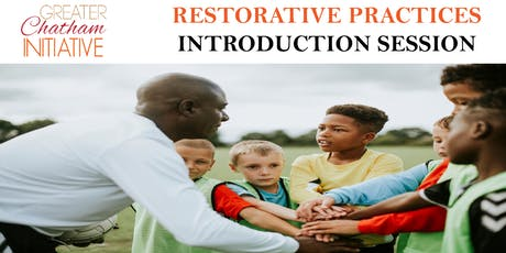 Restorative Practice Introduction Session -  Monday, September 30, 2019 tickets