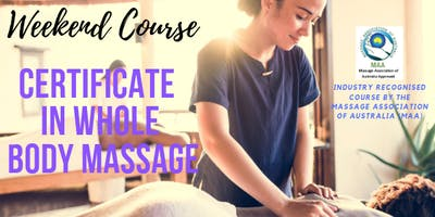 Learn Full Body Relaxation Massage with Peter Roberts in Bundaber QLD