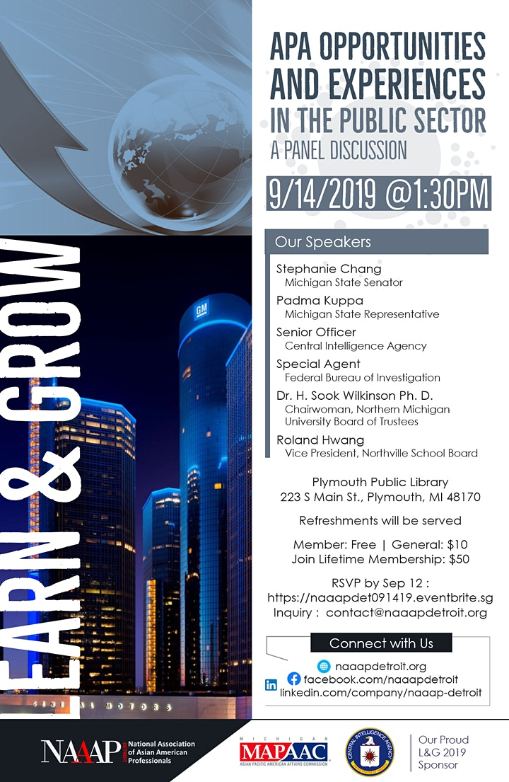 Learn & Grow Series: APIA Experiences & Opportunities in Public Sector image