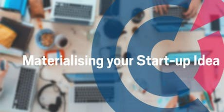 VIC | Materialising your Start-Up Idea  - 12 November 2019 tickets