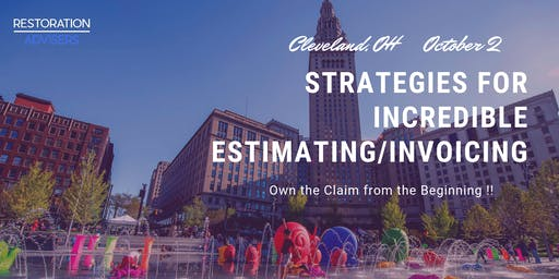 Restoration 2.0 Series: Customer Centric Estimating & Invoicing-Cleveland