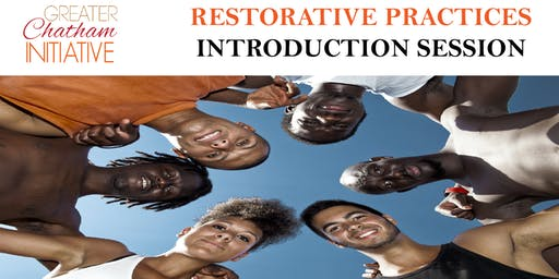 Restorative Practice Introduction Session -  Monday, October 14, 2019