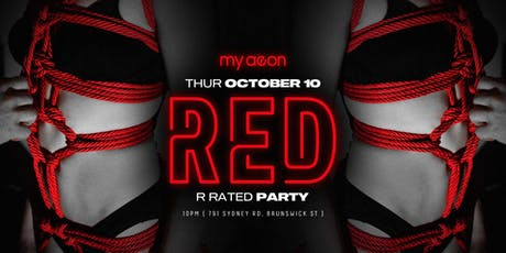 RED (R rated party) tickets