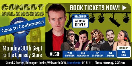 Comedy Unleashed at Conservative Conference tickets