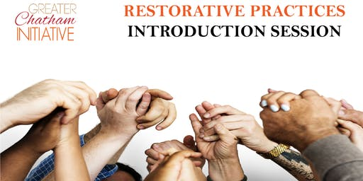 Restorative Practice Introduction Session -  Tuesday, October 31, 2019
