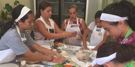 Junior Chefs Make Chicken Taquitos tickets