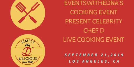 Eventswithedna's Cooking Event   tickets