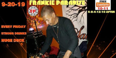 Brooklyn House Music Event Frankie Paradise tickets