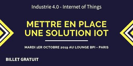 Internet des Objets : Mise en place d'une solution IoT (Internet of Things) billets
