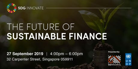 SDG Innovate: The Future of Sustainable Finance tickets