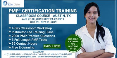 PMP® Certification Training Course in Austin, TX,  | 4-Day PMP Boot Camp
