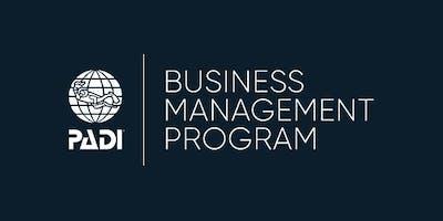 PADI Business Management Program - Bristol, UK
