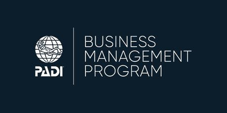 PADI Business Management Program - Bristol, UK tickets