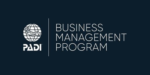 PADI Business Management Program - Bristol, UK