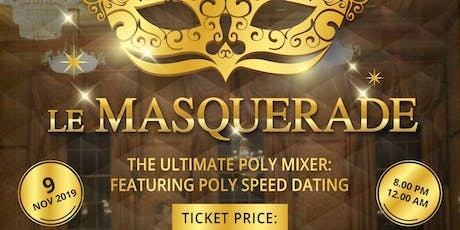 The Us Agenda presents Le Masquerade tickets