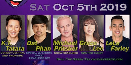 Happy Head Comedy presents Spill The Green Tea tickets