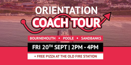 Bournemouth, Poole & Sandbanks Orientation Coach + Free Pizza