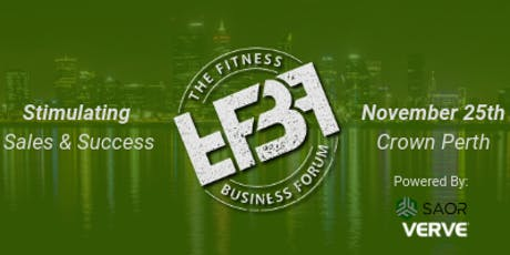 The Fitness Business Forum | Stimulating Sales & Success tickets