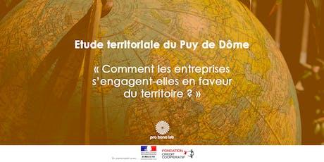 Restitution des résultats de l'étude du Puy-de-Dôme billets