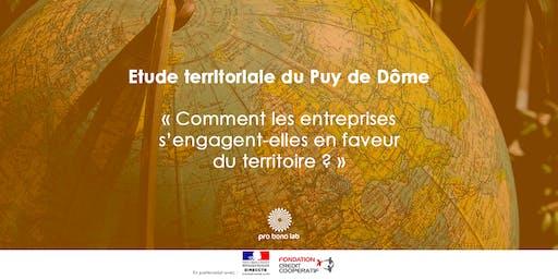 Restitution des résultats de l'étude du Puy-de-Dôme