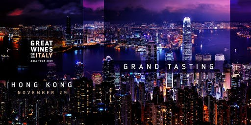 Great Wines of Italy 2019: Hong Kong Grand Tasting