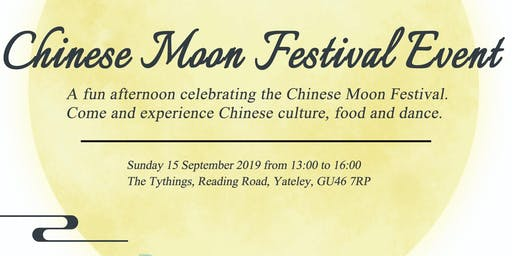Chinese Moon Festival Event Yateley