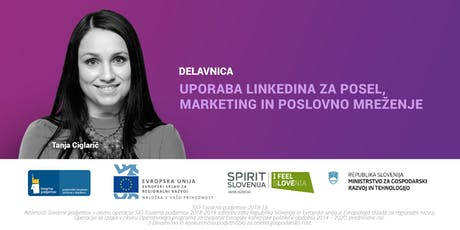 Uporaba LinkedIna za posel, marketing in poslovno mreženje tickets
