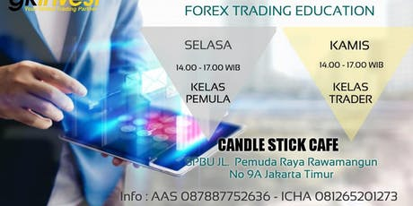 FOREX TRADING EDUCATION (TRADER PEMULA) tickets