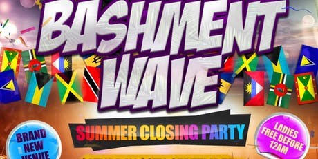 Bashment Wave: Summer Closing Party tickets