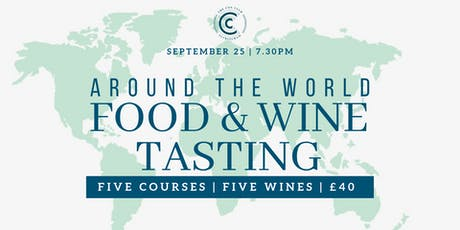 Around the World Food & Wine tasting tickets