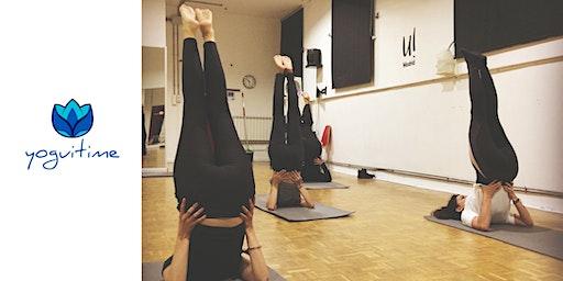 Vinyasa Yoga Sábados - Diego de León - Clase de Prueba
