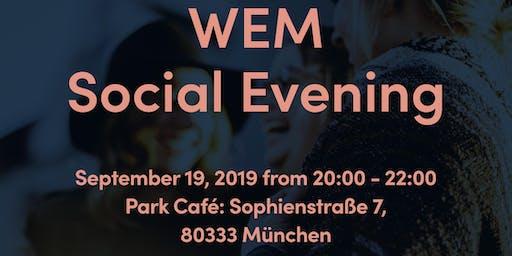 WEM Social Evening