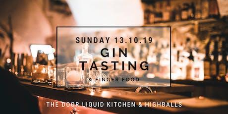 The Door - Sunday GIN Tasting Tickets