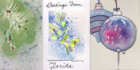 Watercolor Holiday Cards and More tickets