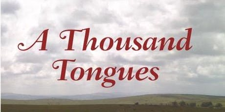 Words with Wine: Ian Reid 'A Thousand Tongues' tickets