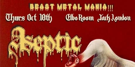 Aseptic, Dearth,Blood Omen, Vorlust at Elbo Room Jack London tickets
