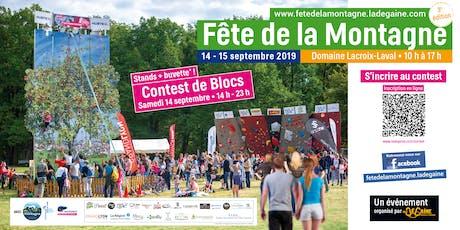Fête de la montagne Lacroix-Laval tickets