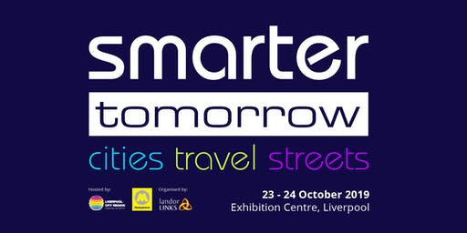 Smarter Tomorrow 2019 - Join the sponsor guestlist