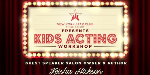 Kids Acting Workshop For Stars